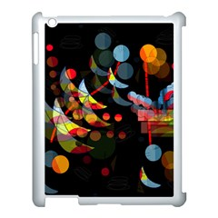 Magical Night  Apple Ipad 3/4 Case (white) by Valentinaart