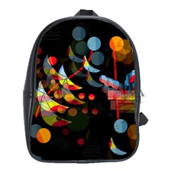 Magical Night  School Bags (xl)  by Valentinaart