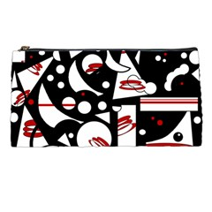 Happy Life   Red Pencil Cases by Valentinaart