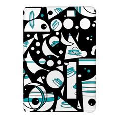 Happy Life   Blue Samsung Galaxy Tab Pro 10 1 Hardshell Case by Valentinaart