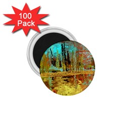 Autumn Landscape Impressionistic Design 1 75  Magnets (100 Pack)  by theunrulyartist