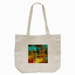 Autumn Landscape Impressionistic Design Tote Bag (cream) by digitaldivadesigns