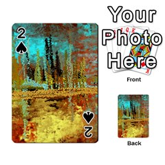 Autumn Landscape Impressionistic Design Playing Cards 54 Designs  by theunrulyartist