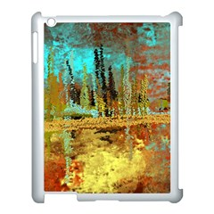 Autumn Landscape Impressionistic Design Apple Ipad 3/4 Case (white) by theunrulyartist