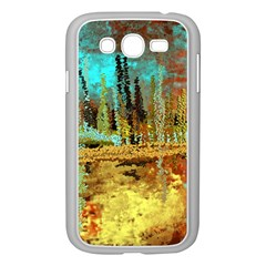 Autumn Landscape Impressionistic Design Samsung Galaxy Grand Duos I9082 Case (white) by theunrulyartist