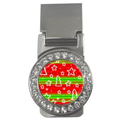 Christmas Pattern Money Clips (cz)  by Valentinaart