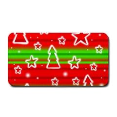 Christmas Pattern Medium Bar Mats by Valentinaart
