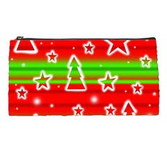 Christmas Pattern Pencil Cases by Valentinaart