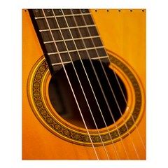Vintage Guitar Acustic Shower Curtain 60  X 72  (medium)  by AnjaniArt