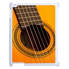 Vintage Guitar Acustic Apple Ipad 2 Case (white)
