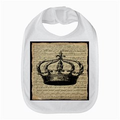 Vintage Music Sheet Crown Song Bib by AnjaniArt