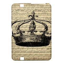 Vintage Music Sheet Crown Song Kindle Fire Hd 8 9  by AnjaniArt