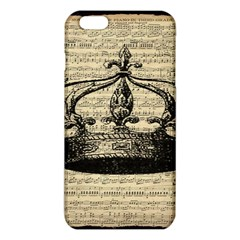 Vintage Music Sheet Crown Song Iphone 6 Plus/6s Plus Tpu Case by AnjaniArt