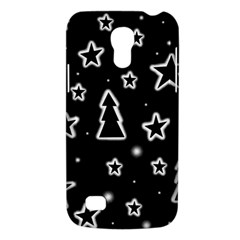 Black And White Xmas Galaxy S4 Mini by Valentinaart