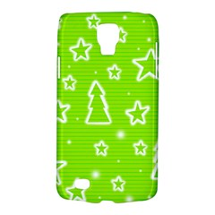 Green Christmas Galaxy S4 Active by Valentinaart