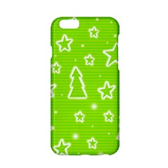 Green Christmas Apple Iphone 6/6s Hardshell Case by Valentinaart