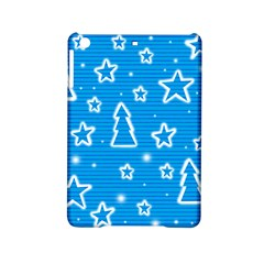Blue Decorative Xmas Design Ipad Mini 2 Hardshell Cases by Valentinaart
