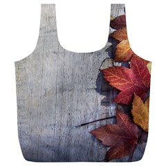 Fall Leaves Reusable Bag (xl) by PhotoThisxyz