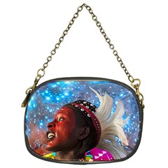 African Star Dreamer Chain Purses (one Side)  by icarusismartdesigns