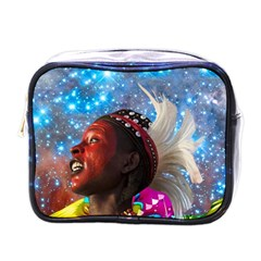African Star Dreamer Mini Toiletries Bags by icarusismartdesigns