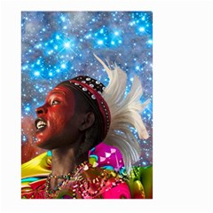 African Star Dreamer Large Garden Flag (Two Sides) by icarusismartdesigns