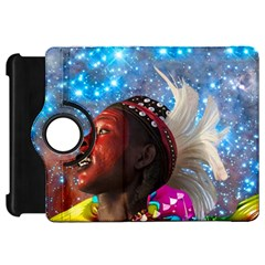 African Star Dreamer Kindle Fire Hd Flip 360 Case by icarusismartdesigns