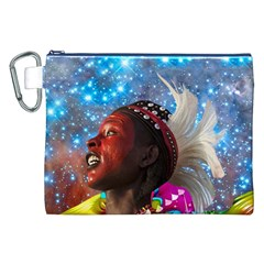 African Star Dreamer Canvas Cosmetic Bag (xxl) by icarusismartdesigns