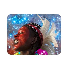 African Star Dreamer Double Sided Flano Blanket (mini)  by icarusismartdesigns