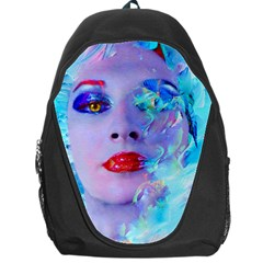 Swimming Into The Blue Backpack Bag by icarusismartdesigns