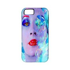 Swimming Into The Blue Apple Iphone 5 Classic Hardshell Case (pc+silicone) by icarusismartdesigns