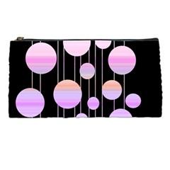 Pink Elegance  Pencil Cases by Valentinaart