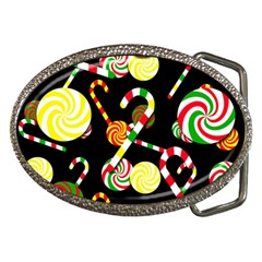 Xmas Candies  Belt Buckles by Valentinaart