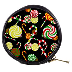 Xmas Candies  Mini Makeup Bags by Valentinaart