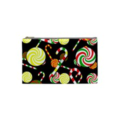 Xmas Candies  Cosmetic Bag (small)  by Valentinaart