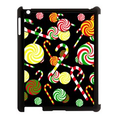 Xmas Candies  Apple Ipad 3/4 Case (black) by Valentinaart