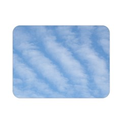 Wavy Clouds Double Sided Flano Blanket (mini)  by GiftsbyNature
