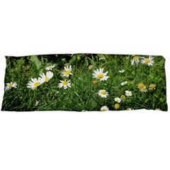 White Daisy Flowers Body Pillow Case Dakimakura (two Sides) by picsaspassion