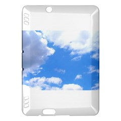 Clouds And Blue Sky Kindle Fire Hdx Hardshell Case by picsaspassion