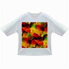 Indian Summer Cubes Infant/toddler T Shirts by designworld65