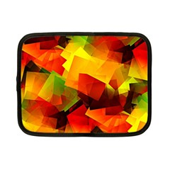 Indian Summer Cubes Netbook Case (small)  by designworld65