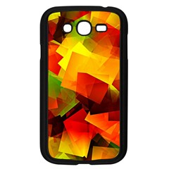 Indian Summer Cubes Samsung Galaxy Grand Duos I9082 Case (black) by designworld65