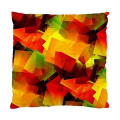 Indian Summer Cubes Standard Cushion Case (two Sides) by designworld65