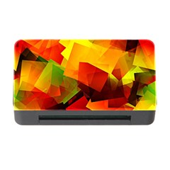 Indian Summer Cubes Memory Card Reader with CF by designworld65