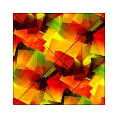 Indian Summer Cubes Acrylic Tangram Puzzle (6  X 6 ) by designworld65