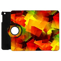 Indian Summer Cubes Apple Ipad Mini Flip 360 Case by designworld65