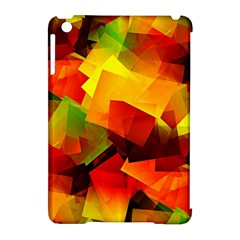Indian Summer Cubes Apple Ipad Mini Hardshell Case (compatible With Smart Cover) by designworld65