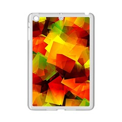 Indian Summer Cubes Ipad Mini 2 Enamel Coated Cases by designworld65