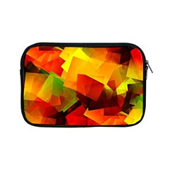 Indian Summer Cubes Apple Ipad Mini Zipper Cases by designworld65