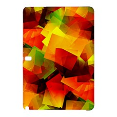Indian Summer Cubes Samsung Galaxy Tab Pro 12 2 Hardshell Case by designworld65
