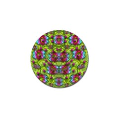 Freedom In Colors And Floral Golf Ball Marker (10 Pack) by pepitasart